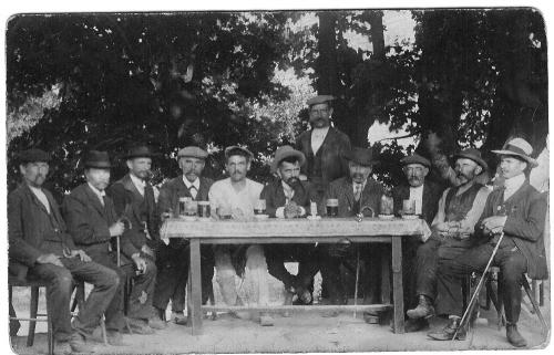 hostinec Podkaštany - 1926